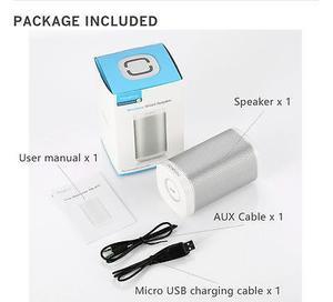 Bluetooth Inalámbrico/por Cable Recargable Coche Casa
