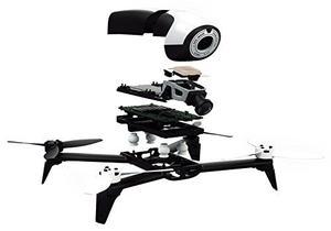 Drone Propellers (2 Blanco, 2 Negros) Parrot Bebop 2
