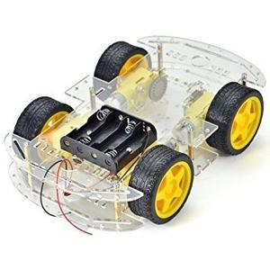 Makerfire Robot 4 Ruedas Inteligente Del Chasis Del Coche K