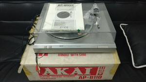 Tornamesa Akai Ap-b110 Auto Return Turntable Tocadiscos