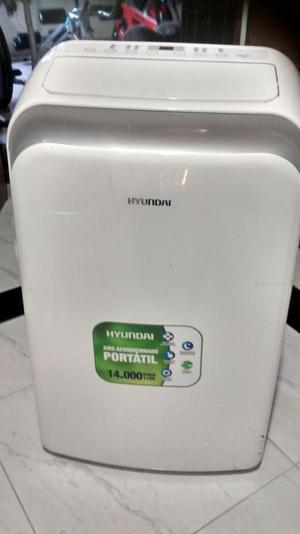 aire acondicionado portatil marca HYUNDAI  BTU