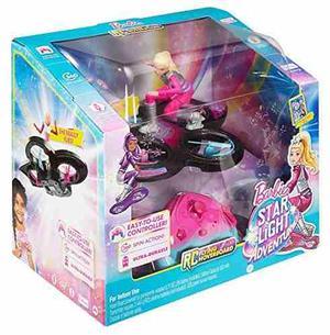 Barbie Estrella Luz Aventura Volar Rc Hoverboard Muñeca