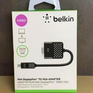 Cable Adaptador Belkin Mini Display A Vga Negro