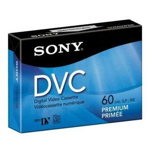 Cinta Sony Dvc60prl Mini Dv 60min Cartucho De Datos