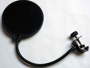 Filtro Anti Pop Para Microfonos De Estudio