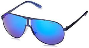 Gafas De Sol Carrera New Panamerika Aviador Azul Mate 64 Mm