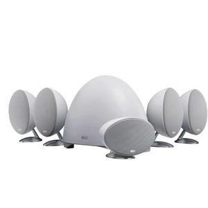 Kef E305wh 5.1-channel Speaker System - White/satin [pure W