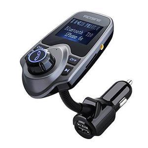 Kit De Transmisor De Fm Bluetooth Victsing, Inalámbrico En