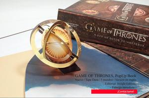 Libro PopUp Games Of Thrones