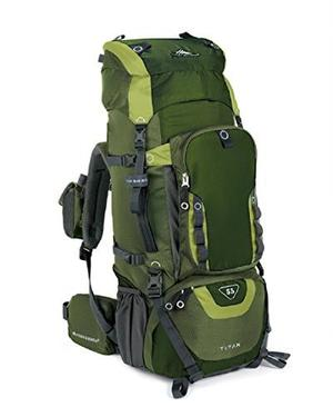Morral Excursionista High Sierra Titan 55 Verde Camuflaje