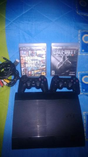 Play 3 Super Slim 500 Gb 2 Controles
