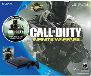 Play Station 4 Slim Call Of Duty Versión
