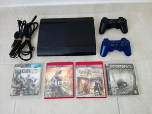 Playstation 3 Super Slim 500 Gb.