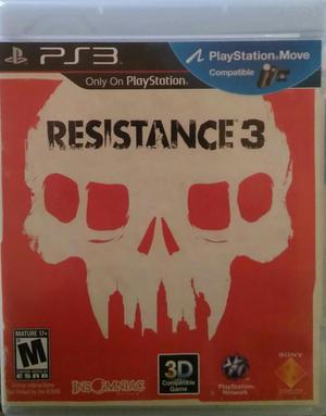 Resistance 3 Ps3 Venta O Cambio