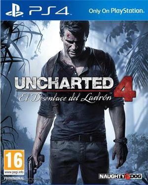 Uncharter 4 PS4 de segunda