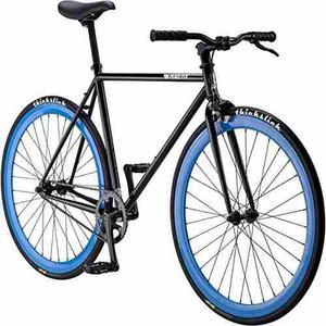 Bicicleta Simple De La Velocidad Del Engranaje Fijo Origi...