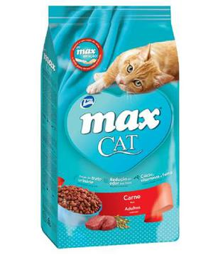 Total Max Alimento Max Cat Adultos Carne Para Gato 1 Kg