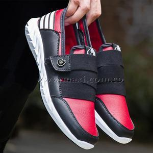 Zapatos Doble Elástico Maxi® Rojo