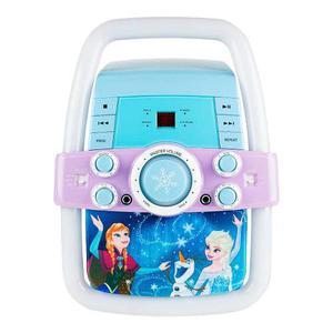 Frozen Disney Karaoke Flashing Bar Microfono Juguete Niñas