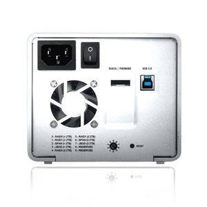 Gabinete Para Discos Duros Rack Sans Digital Mr2ut