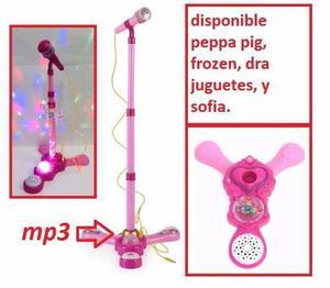Karaoke Juguete Microfono Niña Garantia Mp3