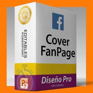 Plantilla Facebook Cover Encabezado Fanpage En Powerpoint