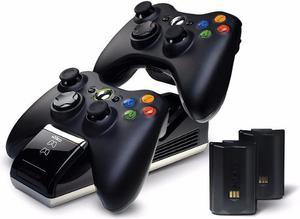 Cargador, Estacion De Recarga Para 2 Controles Xbox 360 S