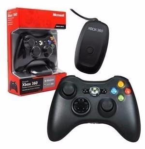 Control Inalámbrico Microsoft Xbox 360 / Pc · 100%