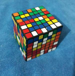 Cubo de Rubik 7x7 Casi Nuevo