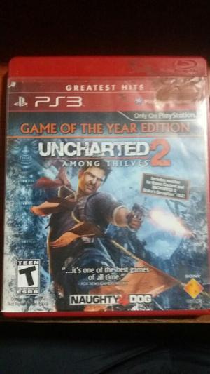 Uncharted 2 Ps3 Solo Venta No Cambios