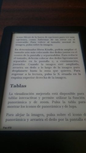 Kindle Touch 7 Generacion