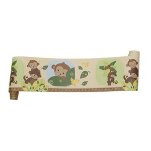 Originales Bedtime Curly Tails Wallpaper Border