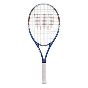 Raqueta De Tenis Wilson Us Open 3/8 Azul Y Gris Y
