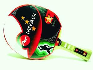 Raquetas De Ping Pong Miyagi 3 Estrellas