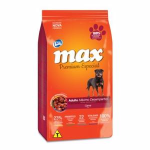 Total Max Perros Adultos Maximo Desempeño Sabor Carne 15kg