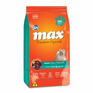Total Max Perros Adultos Razas Pequeñas Sabor Carne 15kg