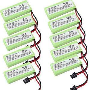 10 X 2.4v 800mah Batería Teléfono Uniden Dect