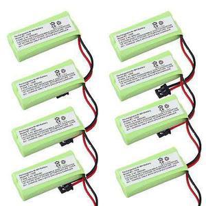 Batería De Ni-mh 2.4v 8 X 800mah Para Uniden Bt- Bbtg07