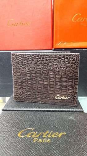 Billetera Cartier Para Caballero - Envio Gratis
