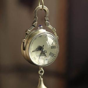 Cuarzo Reloj De Bolsillo De Bronce Zps Retro De La Bola De