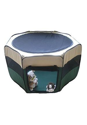 Gopetclub Pet Dog Exercise Pen Indoors & Outdoors Ps22