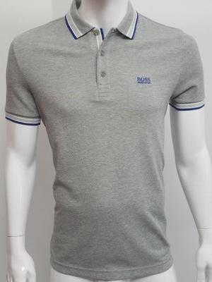 Hugo Boss Camiseta Tipo Polo Ref  (gris, M)