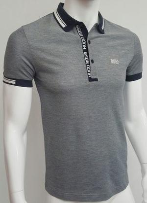 Hugo Boss Camiseta Tipo Polo Ref  (gris, S)