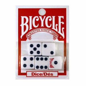 ¡ Juego De 5 Dados Bicycle En Acrílico De Alta Calidad !!