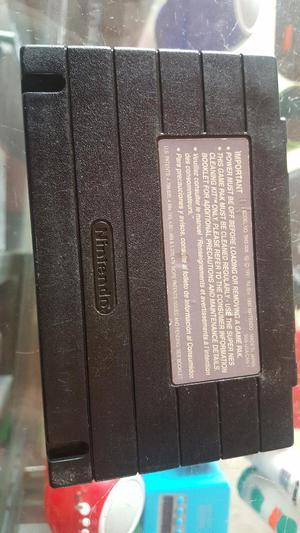 Juego de Super Nintendo Original