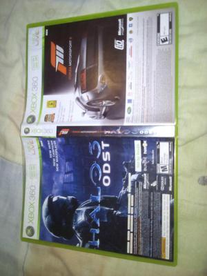 Juego de Xbox x1 Forza 3 Y Halo 3