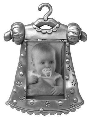 Malden Bebé Pewter Picture Frame Juvenil Ropa De Niña