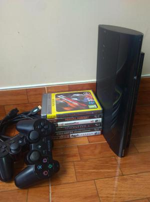 PlayStation 3 Super Slim 500gb usado