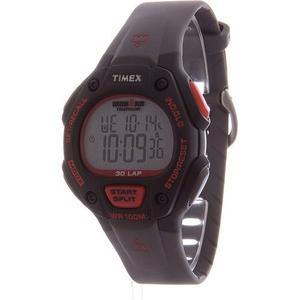 Reloj De Timex Ironman 30-lap-negro/rojo
