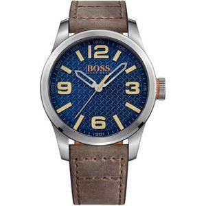 Reloj Hugo Boss  Cuero Marrón Hombre